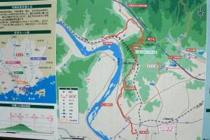 秋葉山ウオーキングマップ
