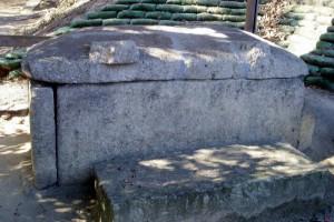 王墓山古墳石棺