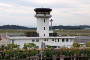 航空管制塔ー岡山空港ー