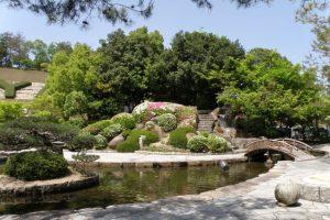 岡山後楽園模式庭園ー岡山空港ー