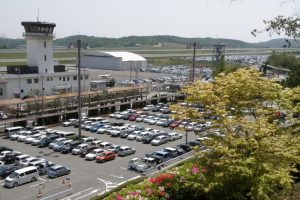 第1~4駐車場ー岡山空港ー
