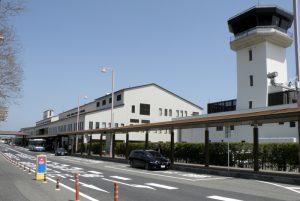 ターミナルビルー岡山空港ー