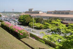 送迎用駐車場ー岡山空港ー
