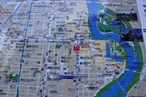 岡山市街図