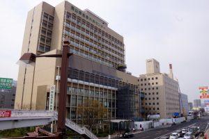 岡山済生会総合病院-外来病棟ー