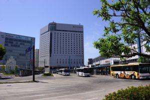 岡山駅東口バスターミナル
