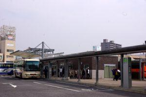岡山駅西口バスターミナル