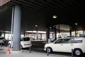 岡山駅西口駐車場