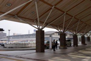 岡山駅西口タクシー乗り場