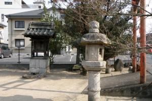 燈籠ー旧山陽道板倉宿