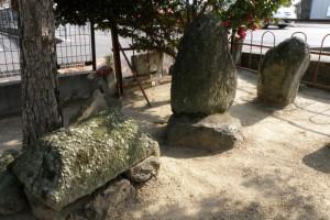 墓標ー旧山陽道板倉宿