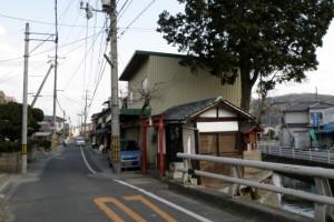 板倉宿と旧山陽道