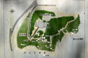 楯築地区案内図
