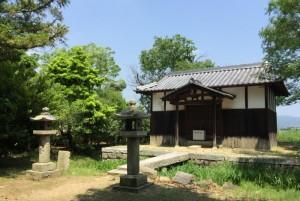 矢喰神社拝殿