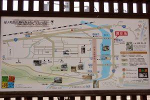城下町ー勝山ー案内図