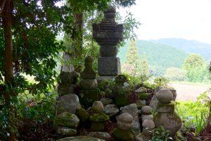 五輪塔ー宇南寺ー