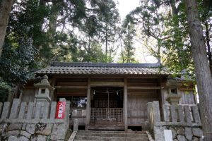 阿波八幡神社拝殿