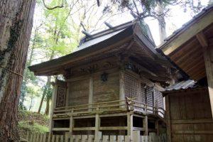 阿波八幡神社本殿