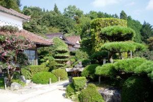 広兼邸 庭園