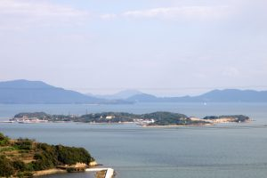 犬島遠景ー山之神山よりー