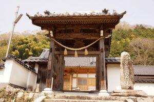 山門ー化生寺ー