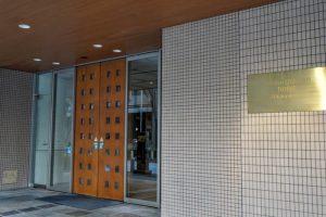 エントランスー三井ガーデンホテル岡山ー