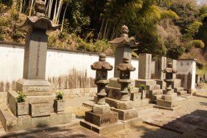 三浦家墓所ー安養寺ー
