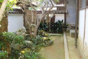 西江邸 庭
