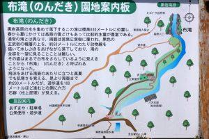 布滝案内図