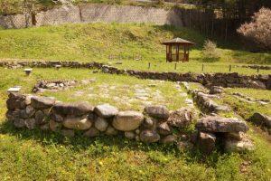 石敷き遺構ー高田城ー