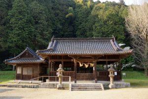 拝殿ー高田神社ー
