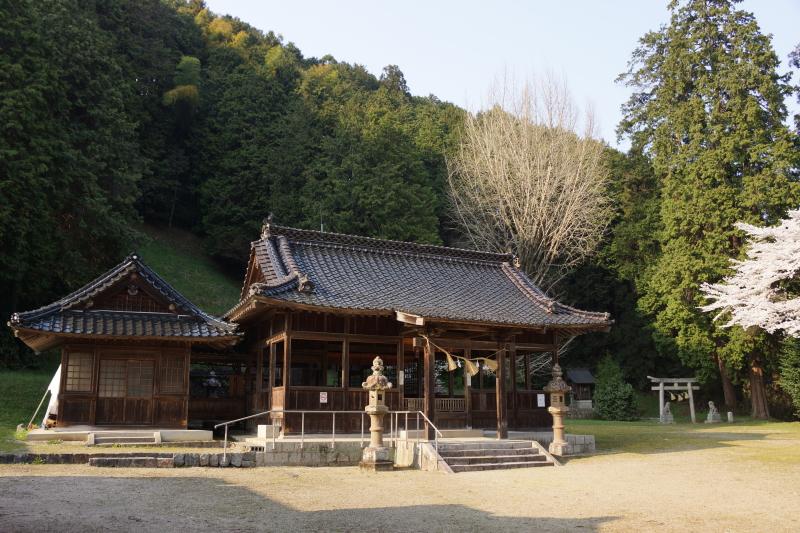 境内ー高田神社ー