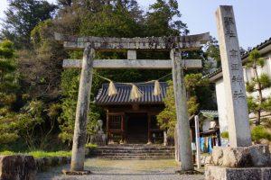 鳥居ー高田神社ー