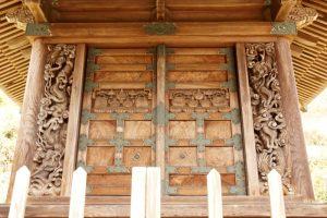 本殿彫刻ー玉雲宮ー