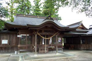 福力荒神社拝殿