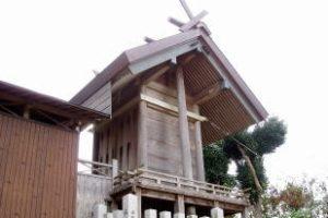本殿ー松神神社ー