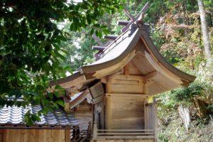 三鏡神社ー越畑ふるさと村ー