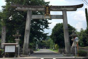 鳥居ー中山神社ー