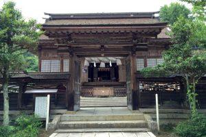 拝殿ー中山神社ー