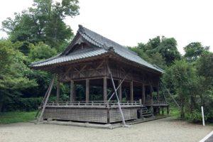 神楽殿ー中山神社ー