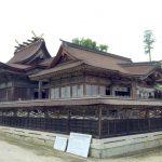 本殿・拝殿ー中山神社ー