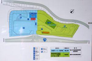 案内図ー道の駅「奥津温泉」ー