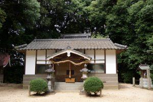 拝殿ー上山神社ー
