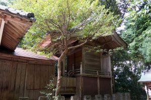 本殿ー上山神社ー