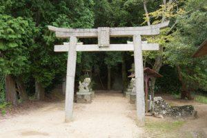 鳥居ー上山神社ー