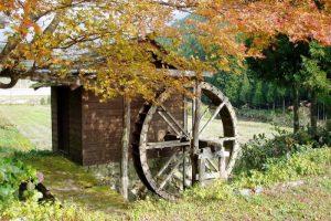 水車小屋ー越畑ふるさと村ー