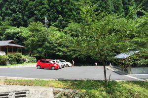 駐車場ー横野滝ー
