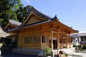 本殿・拝殿ー湯神社ー