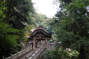 参道ー穴門山神社ー