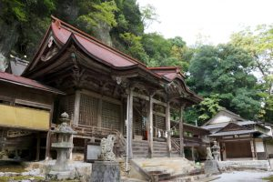 拝殿ー穴門山神社ー